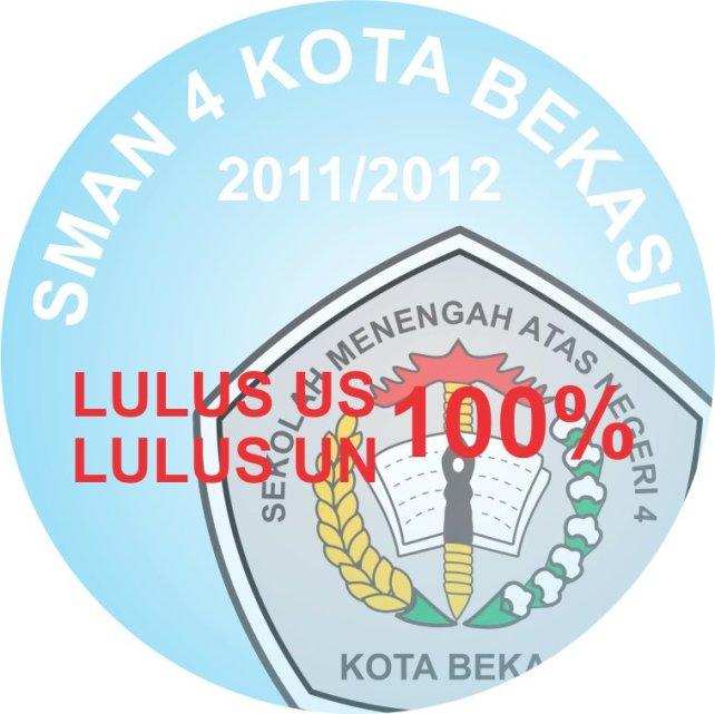 SMAN 4 Bekasi LULUS US UN 100%